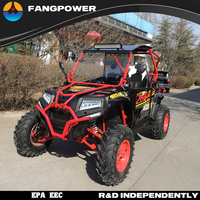 China gas powered off road street legal 4x4 utv side by side used utv for sale