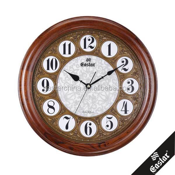 Antique home decorative wall clock factory supply