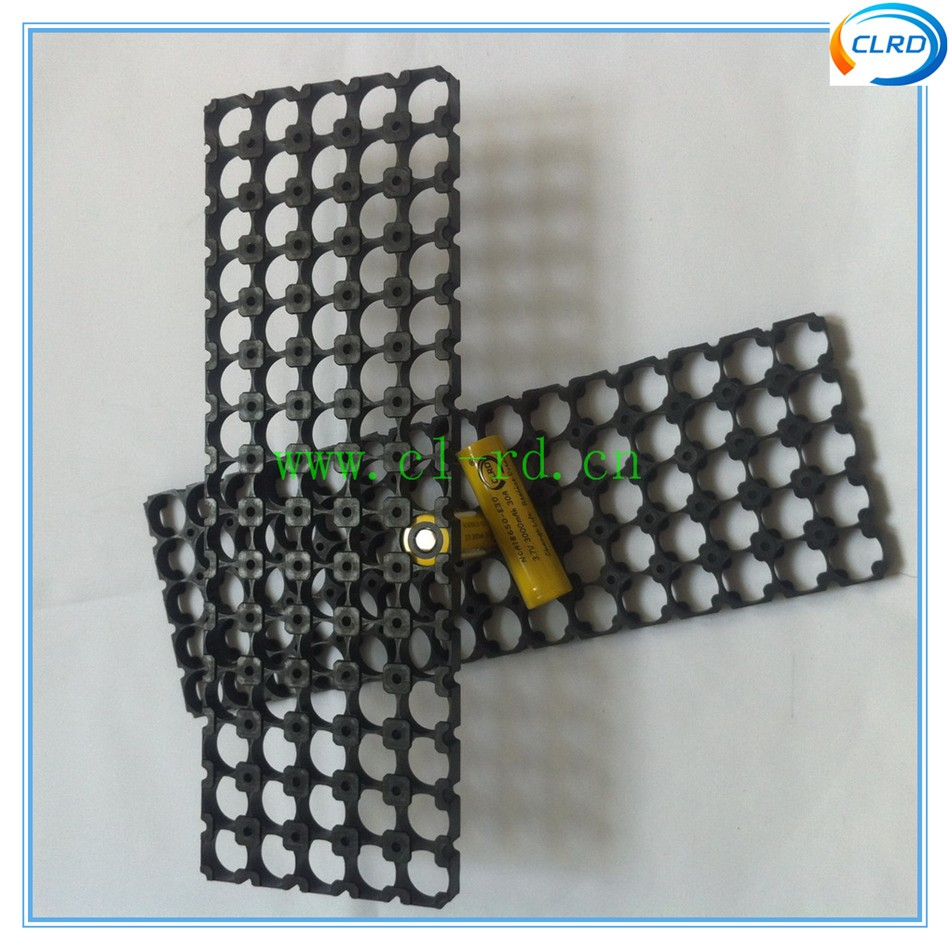 5*15 18650 battery pack frame plastic holder 75 cells 18650 battery pack 54V lithium battery pack 10ah