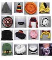 Dog clothes a lot of 50 Dog Costume Hats For $100