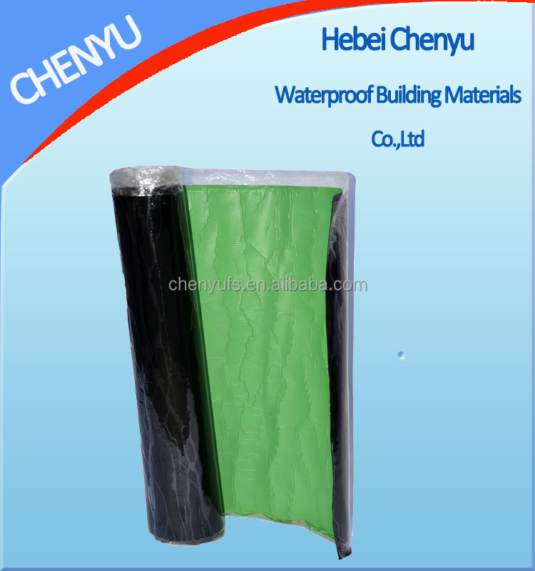 2mm 3mm 4mm bituminous waterproof aluminum roof waterproofing sheet
