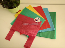 Pringted wholesale charity donation plastic bag for clothes