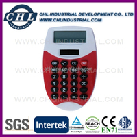Portable various design silicone calculator