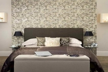 China designer wall papers bedroom for home decor with korean wallpaper