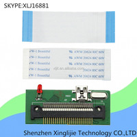 1.8 inch Mini USB 2.0 To micro IED CE ZIF PATA interface ssd card adapter