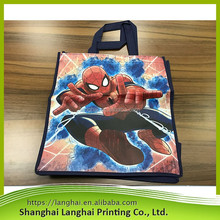 2017 latest design alibaba e-shop top quality die cut shopping bags folding most popular nonwoven foldable bag