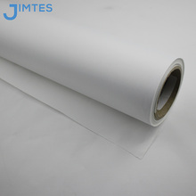 latex screen printing twill fabric with textile coating for backlit light box banner