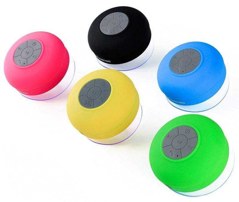 SEDEX Wholesale Portable BTS-06 Waterproof BT Wireless Shower Speaker