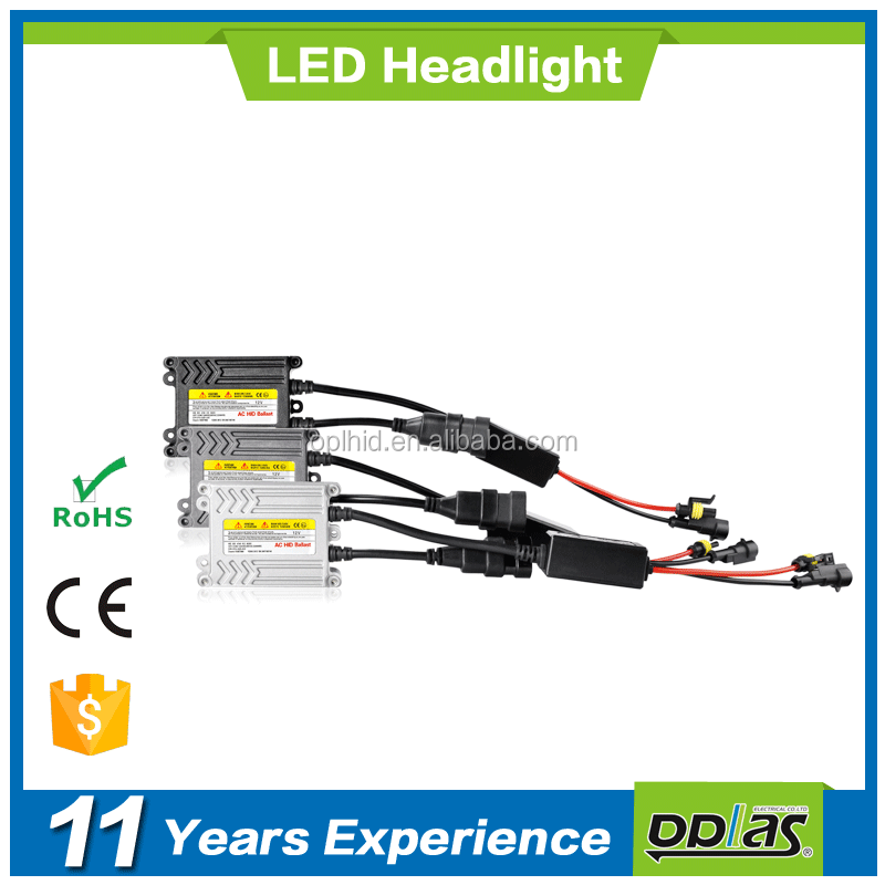 manufacturer car conversion accessories 12V 35w 55w car ac dc electronic slim canbus pro xenon hid light ballast for auto lamp