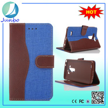 Modest smart innovative flip cover leather wallet case for lg optimus 3d p920