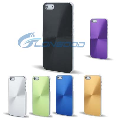 Popular gift Aluminum Crystal Metal Bumper Bulk Cell Phone Case cover for iphone5
