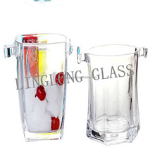Crystal Glass Ice Bucket/Glassware