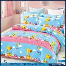 oem comforter material designer 3d bed sheet satin bedding