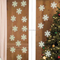 Direct Factory Sale window cling snowflakes