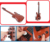 Various functions musical instrument plastic touch toy bass guitar with songs