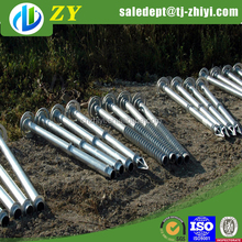 76mm ground anchor r manufacturer with Stainless tube