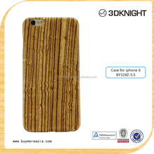 Wholesale aramid fiber wood mobile phone cover for iphone 6 6plus
