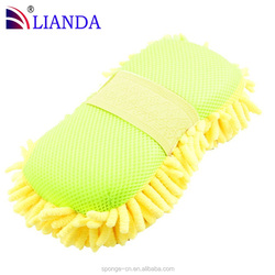 Hot seller cheap car washing and polishing sponge, pipe cleaning sponge block, micro fiber cleaning sponge