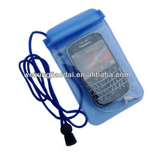 New Arrival PVC Dry Pouch Beach Waterproof Bag For Mobile Phone With Jack