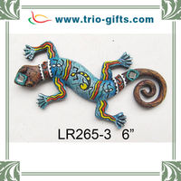 Wholesale Polyresin Souvenirs Lizard Shape Wall Hanging