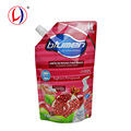 600ml Liquid Detergent Refill Plastic Laundry Bag With Spout