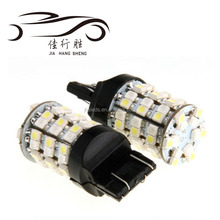 T20 3157 60SMD 1210 Chip White Yellow Dual Color Switchback Turn Signal Car LED Light