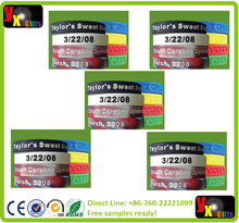 Customized Wristband Silicone bracelets and Printed Logo For Events