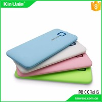 China factory 2017 Factory wholesale slim portable power bank from alibaba shop