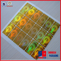 High quality 3d hologram sticker printing cheap price custom sticker with personalized logo