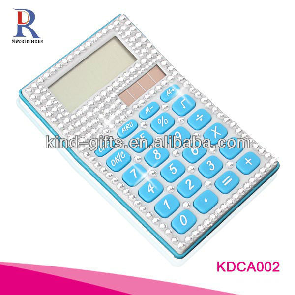 Customer Design Rhinestone Diamond Promotional Mouse Pad With Calculator Manufactory|Factory|Exporter