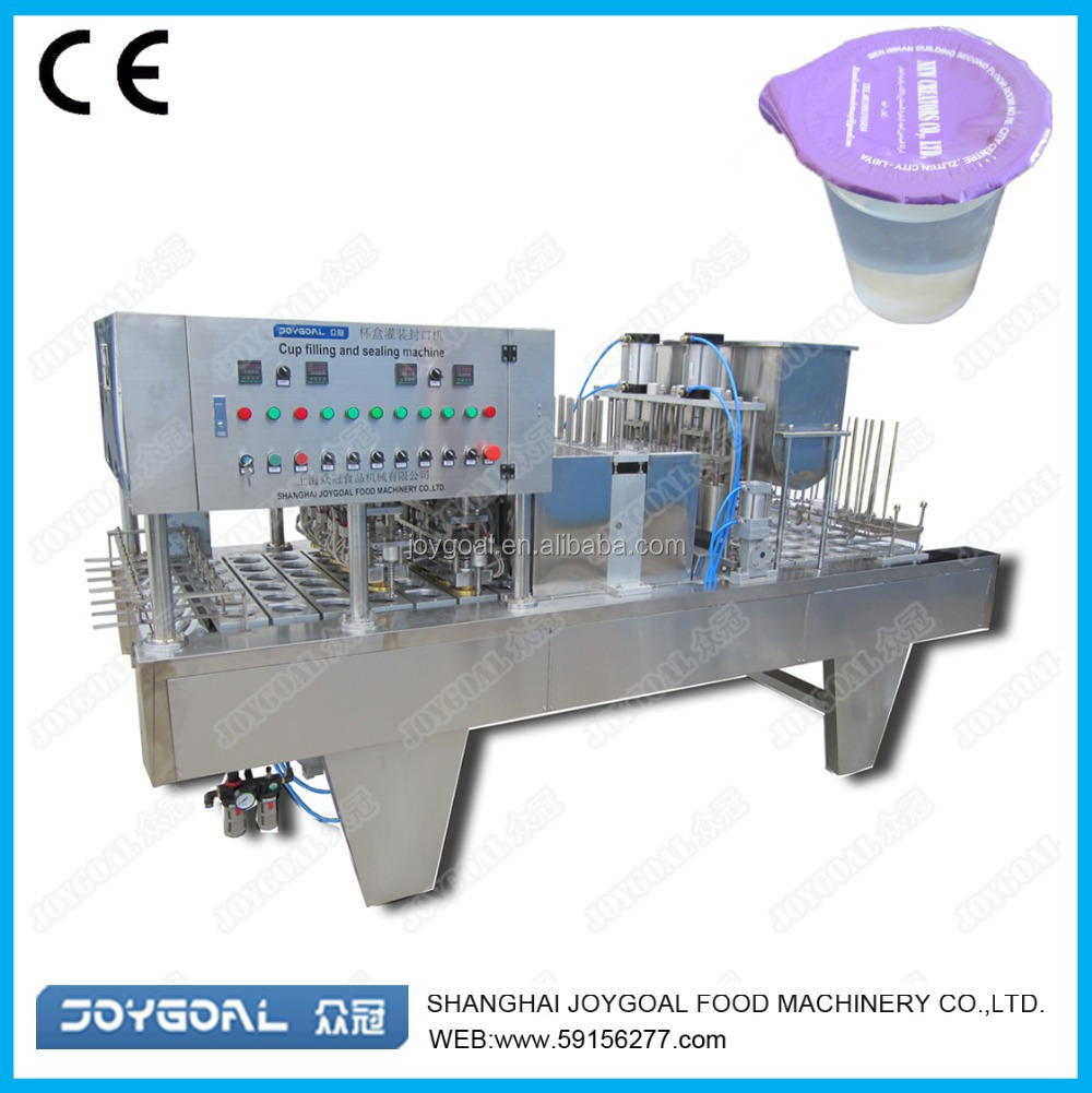 High quality automatic BHJ-8 bubble tea cup seal packaging machine shanghai factory manufacture