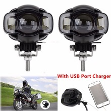 "2"" 3"" 4"" 5"" 6"" motorcycle led strobe light driving lights for motorcycle and bike"