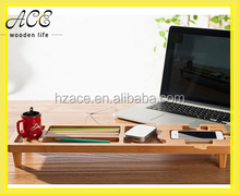 DIY Bamboo Wooden Keyboard Desk Organizer