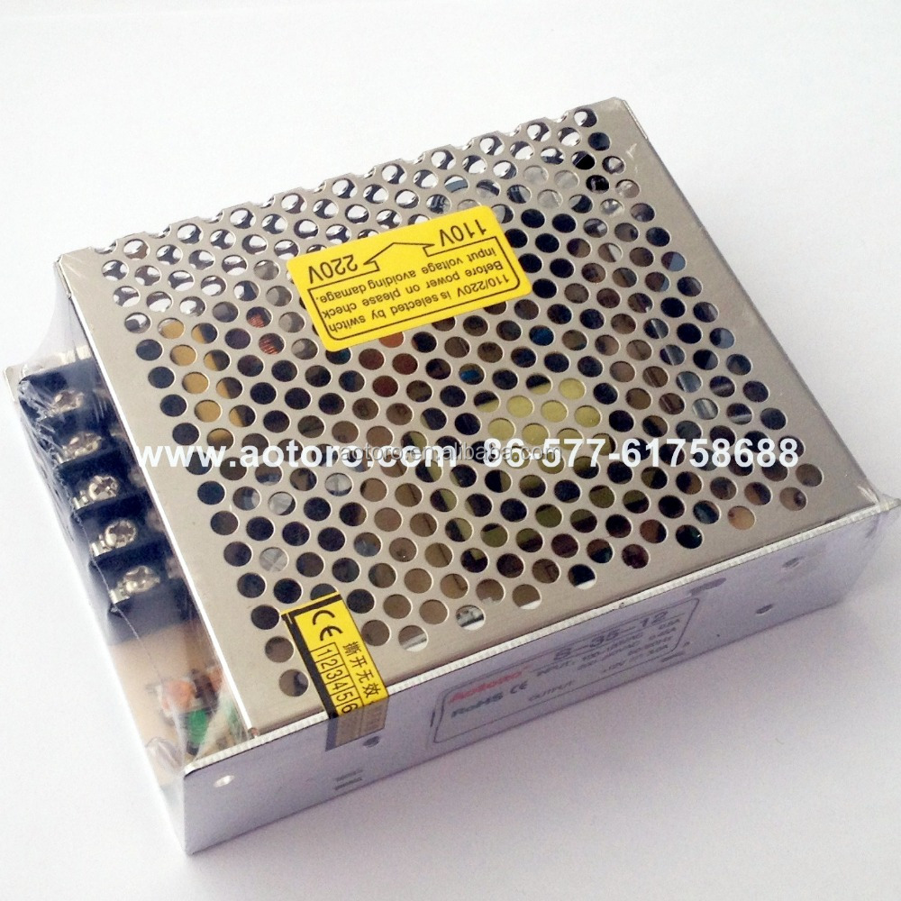 switch mode power supply Single S-35-12 220v ac 12v dc power supply quality guaranteed