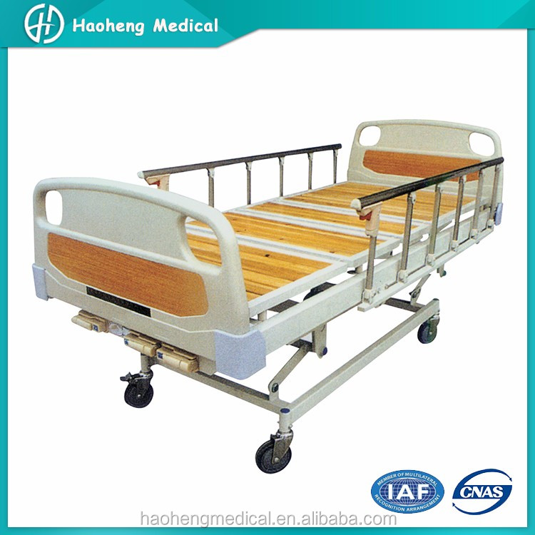 Three Cranks Manual Care Used Manual Hospital Bed For Sale