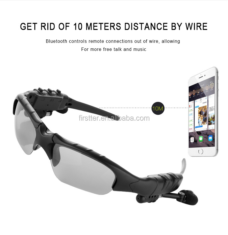 Bluetooth 4.1 Polarizing Sports Sunglasses with Bluetooth Glasses