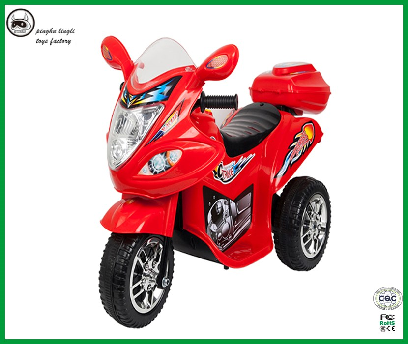 2017 new design RC motorcycle LL1188 Pinghu Lingli kids electric tricycle on sale
