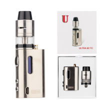 E Cig Vape Big Luxury Starter Kit 60W 2.0Ml Rdta Tank Ultra Rdta 60 Tc Kit Free Blue E Cigarette