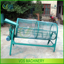 Low noise and high output rotary screen/screen separator/wood sawdust screen machine for sale