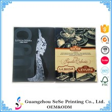 High quality Low cost custom A4 glossy cheap magazine catalog printing