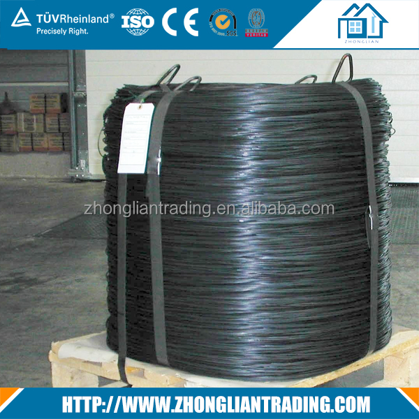 12 16 18 gauge black annealed tie wire