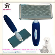 (L) PR80046-1 new priority smart weave highlighting cheap and nice dog slicker brush