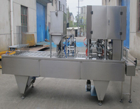 plastic cup filling sealing machine