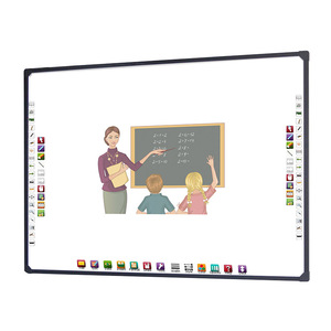 4 touch optcial interactive smart white board educational equipment for schools