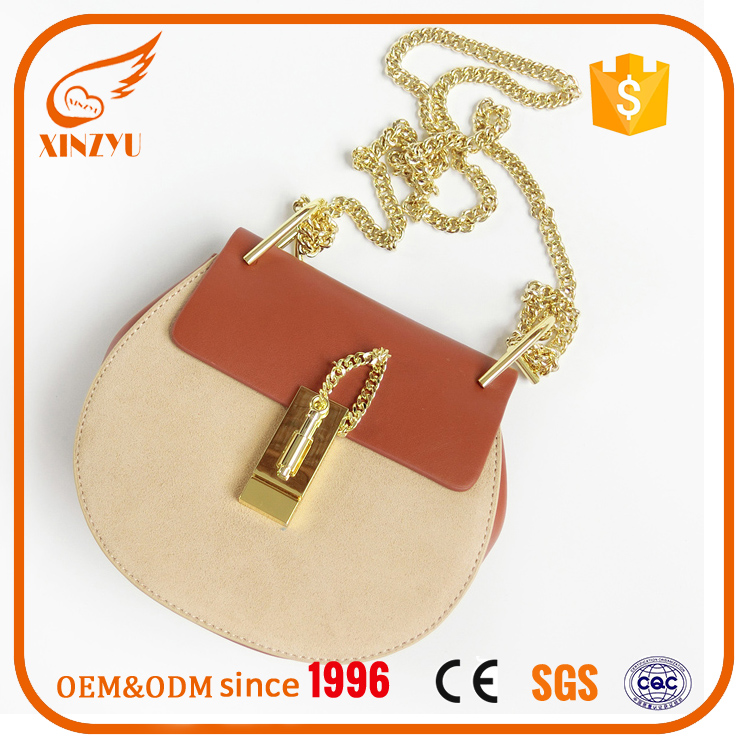 Mini cow leather hand bag 2016 fashion leather handbags ladies 100% genuine smooth leather