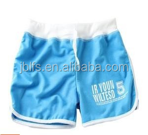 OEM cheap high quality casual and sports shorts for girl