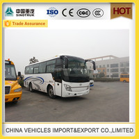 Discount shaolin brand 45 seats bus with bus camera china manufacturer