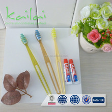 nylon toothbrush for hotel dental kit/toothbrush with toothpaste in one super cheap bag/dental oral instruments kit