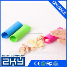 Household silicone garlic peeling tool silicone garlic press, silicone galic peeler