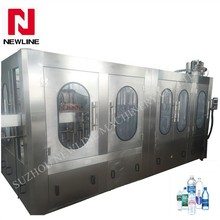 Automatic mineral water bottling plant for pet bottle